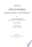 Neues spanisch-deutsches und deutsch-spanisches wörterbuch: bd. Spanisch-deutsch