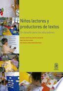 Niños lectores y productores de textos