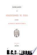 Nobiliario de conquistadores de Indias ...