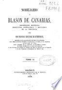 Nobiliario y blason de Canarias
