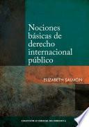 Nociones básicas de derecho internacional público
