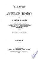 Nociones de arqueología española