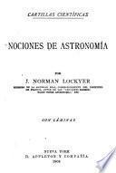 Nociones de astronomía