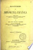 Nociones de diplomática española