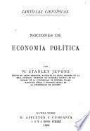 Nociones de economía política