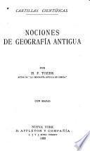 Nociones de geografia antigua