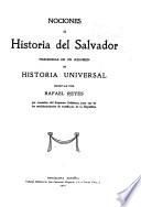 Nociones de historia del Salvador