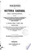 Nociones de Historia Sagrada Moral y Urbanidad Cristiana