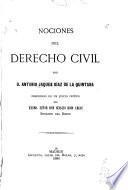 Nociones del derecho civil
