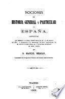 Nociones general y particular de España