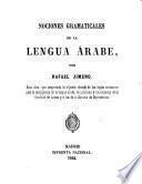 Nociones gramaticales de la lengua árabe
