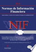 Normas de Información Financiera (NIF) 2019