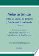 Notas artísticas sobre las iglesias de Tomares y San Juan de Aznalfarache (Sevilla)