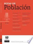 Notas de Población Año XLII No.101 Julio-Diciembre de 2015