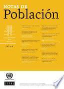 Notas de Población Año XLIII No.103 Julio-Diciembre de 2016