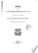 Noticia de las islas, bajos y otros escollos descubiertos durante los años 1857 y 1858