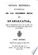 Noticia histórica documentada de las célebres minas de Guadalcanal
