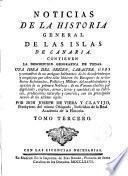 Noticias de la Historia General de las Islas Canarias