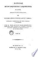 Noticias de los arquitectos y arquitectura de España desde su Restauración, 3