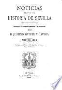 Noticias relativas á la historia de Sevilla que no constan en sus anales