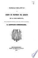 Noticias relativas al cuerpo de ingenieros del ejercito de la Gran-Bretana