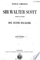 Novelas completas de Sir Walter Scott
