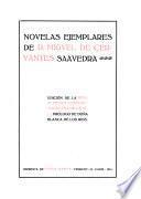 Novelas ejemplares de D. Miguel de Cervantes Saavedra