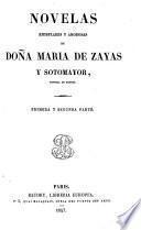 Novelas ejemplares y amorosas de doña María de Zayas y Sotomayor
