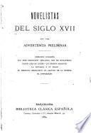 Novelistas del siglo XVII [diecisiete]