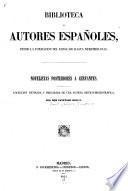 Novelistas posteriores a Cervantes. coleccion revisada y precedida de una noticia critico-bibliográfico