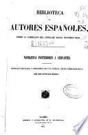 Novelistas posteriores a Cervantes: - Vol. 2 con un bosquejo sobre la novela española