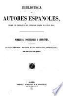 Novelistas posteriores e Cervantes