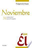 Noviembre, con Él