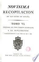 Novisima Recopilación de las Leyes de España