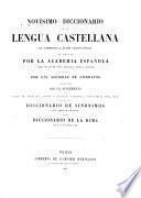 Novísimo diccionario de la lengua castellana