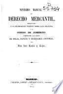 Novísimo manual de Derecho Mercantil