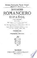 Novísimo romancero español