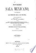 Novisimo Sala Mexicano, o ilustración al derecho real de España