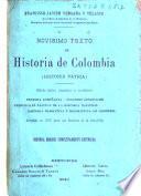 Novisimo texto de historia de Colombia (historia patria)