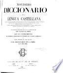 Novísmo diccionario de la lengua castellana