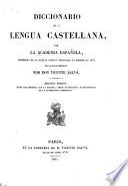 Novʹisimo diccionario de la lengua Castellana