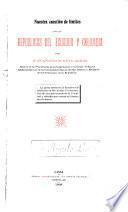 Nuestra cuestión de límites con las repúblicas del Ecuador y Colombia