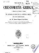 Nueva crestomatia griega