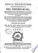 Nueva descripcion geographica del Imperio Ruso ...