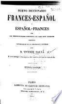 Nueva diccionario francés-espanol y espanol-francés