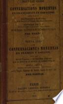 Nueva guía de conversaciones modernas en francès y español para uso de viageros y de...
