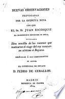 Nuevas observaciones...Juan Escoiquiz y Fernando VII.