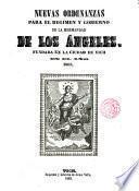 Nuevas Ordenanzas para el régimen y gobierno de la Hermandad de los Angeles, fundada en la Ciudad de Vich