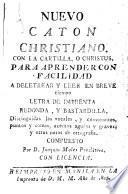 Nuevo Caton Christiano, con la cartilla, o Christus