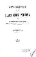 Nuevo diccionario de la legislación peruana